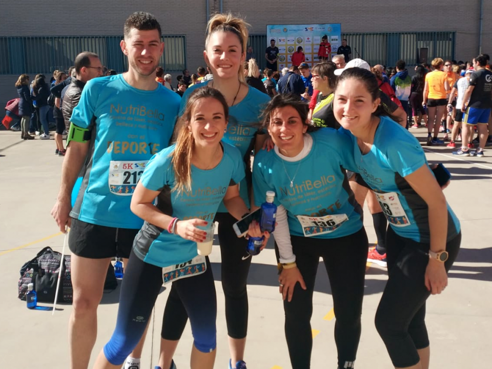 Nutribella entrenamiento carrera popular Vila-real
