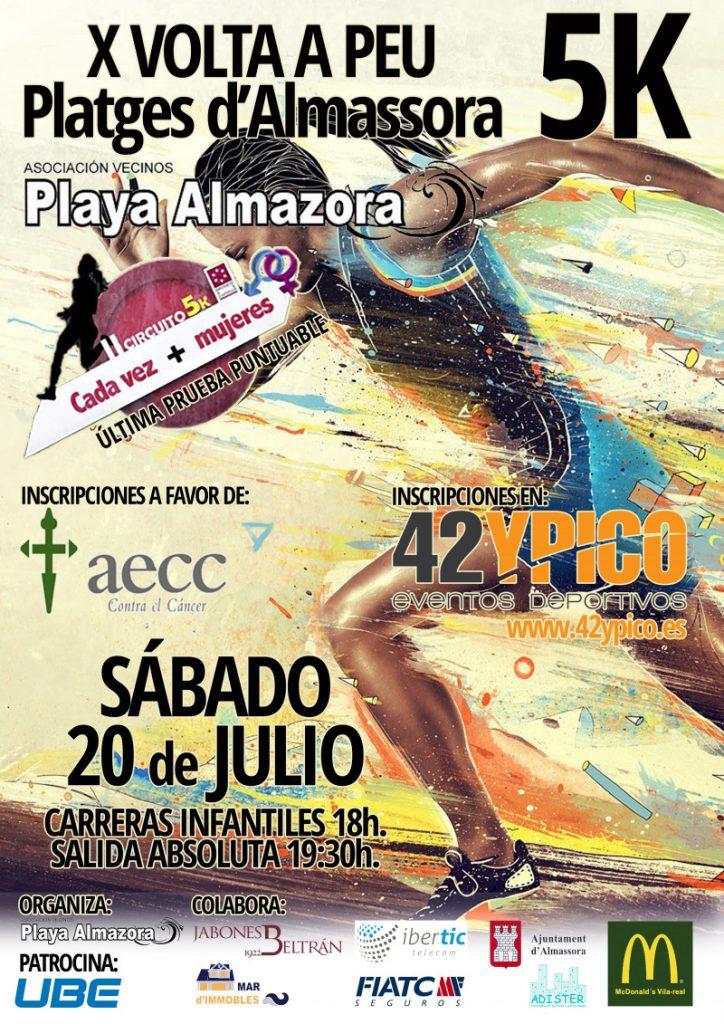 5K Platges Almassora Nutribella Castellón